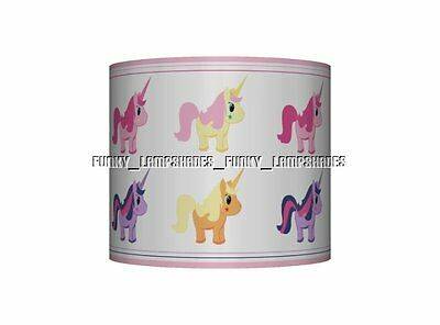 Unicorn ☆ Ceiling Lampshade ☆ Girls Bedroom Lamp Shade ☆ Pink & Lilac