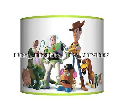 Toy Story ☆ Ceiling Lampshade ☆ Boys Bedroom Lamp Shade ☆ Matches Duvet