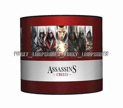 Assassins Creed ☆ Ceiling Lampshade ☆ Boys Bedroom Lamp Shade ☆ Matches Duvet