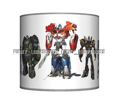 Transformers Grey ☆ Ceiling Lampshade ☆ Boys Bedroom Lamp Shade ☆ Matches Duvet