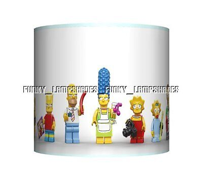 The Simpsons ☆ Ceiling Lampshade ☆ Boys Bedroom Lamp Shade ☆ Matches Duvet
