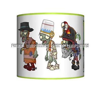 Plants Vs Zombies ☆ Ceiling Lampshade ☆ Boys Bedroom Lamp Shade ☆ Matches Duvet