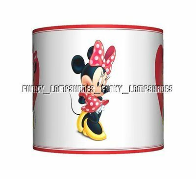 Minnie Mouse - Red ☆ Ceiling Lampshade ☆ Girls Lamp Shade ☆ Matches Duvet