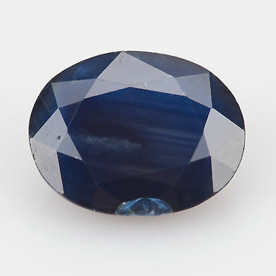2.89 ct Sapphire Oval cut 9.99x7.92mm Si2 Royal blue Natural loose gemstone