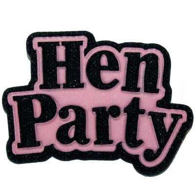 Badges x6 Hen Party