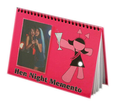 Memento Book Hen Night Party Guest Book