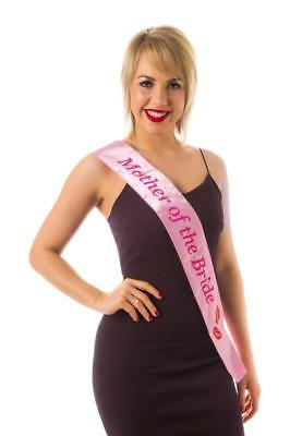 Sash Flashing Mother of the Bride Hen Night Party Wearables