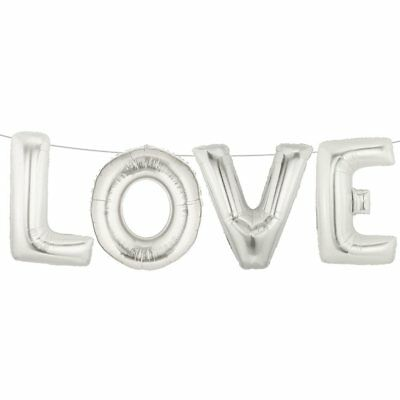 Love Balloons Weddings Foil Balloons