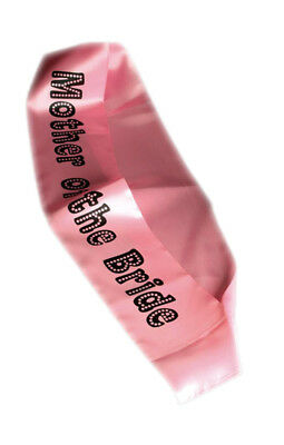 Sash Mother of the Bride Miss Behave Hen Night Party Wearables