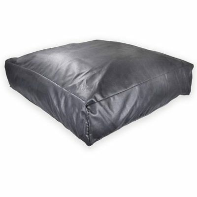 Rough Leather, Dog Bed, Rebound Foam Filled, Top Seller, 3 Sizes, Fully Zipped