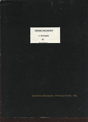 Original 1986 Martin Bregman Script Tapping The Source 129 Pages
