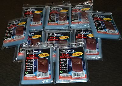 1000 Ultra Pro Series Card Sleeves 10 Packages Protectors Cases Protective NEW