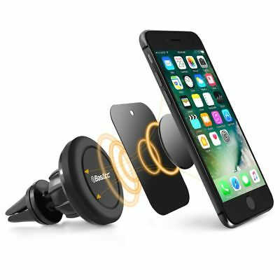 360 Rotate Universal Cell Phone GPS Air Vent Magnetic Car Mount Cradle Holder