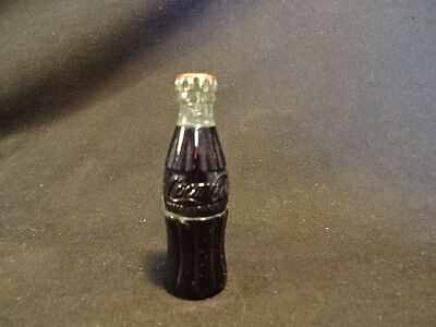 Old Vtg Drink Coca Cola Coke Bottle with Cap Cigarette Lighter