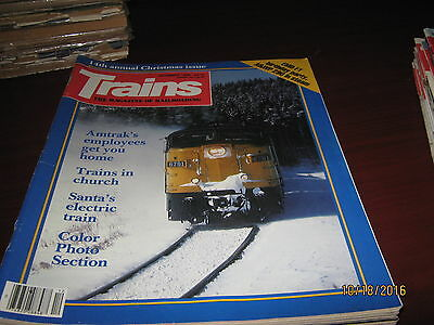 (24) vintage Trains Magazines from 1970s and 1980s