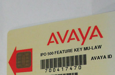 Avaya IP 500 V1 Feature Card 700417470 R8.1 Essential Edition Small Site Upgrade