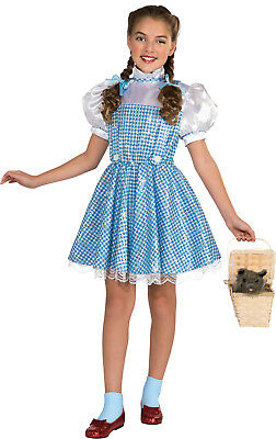 Book Week Costume The Wizard of Oz Dorothy Child Girls Fancy Dress Up Outfit