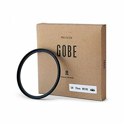Gobe - Filtro Ultravioletto Multiresistente Rivestito a 16 Strati UV 77mm Tedesc