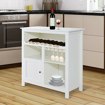 HOMCOM Buffet Storage Cabinet Kitchen Pantry Display Hutch Sideboard Furniture