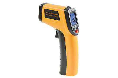 2016 New LCD IR Laser Infrared Digital Temperature Thermometer Gun temp meter