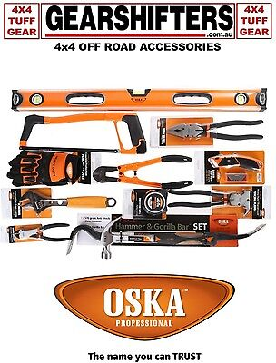 Oska 12 Piece Heavy Duty Fencing Tool Kit Tradies Serious Fencing Tools With Bag