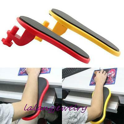 Arm Hands Support Bracket Pallet Rack Console Mouse Pad Wrist rest for Computer