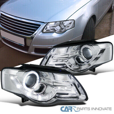 97-01 VW PASSAT B5 Euro Projector Headlights W/ Corner