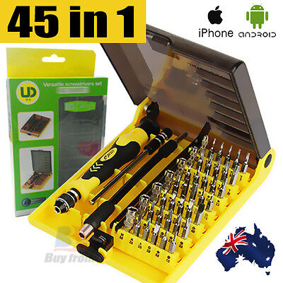 45IN1 Precision Screwdriver Tool Set Kit Repair Torx Screw Driver Phone Laptop