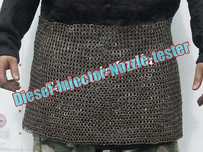 Chamail Skirt 10 mm flat riveted with washer medieval ARMOUR
