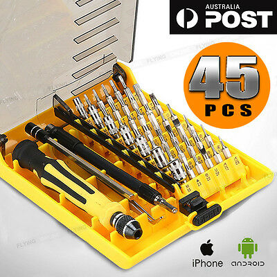 45in1 Versatile Precision Screwdriver Tool Set Kit Repair Torx Screw Driver AU