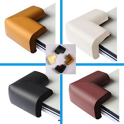 Soft Baby Safety Corner Edge Cushion Desk Table Cover Protector Pads Child *4Pcs