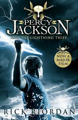 Percy Jackson and the lightning thief by Rick Riordan (Paperback)