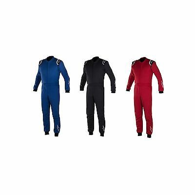 Alpinestars Delta FIA Race Approved 2 Layer FHR Friendly Racing Suit