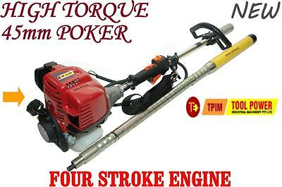 Concrete Vibrator Back Pack Style TOOL POWER with high torque 45mm poker +++++++