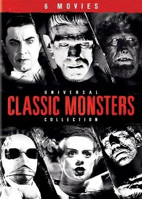 Universal Classic Monsters Collection [New DVD] Boxed Set, Slipsleeve Packagin