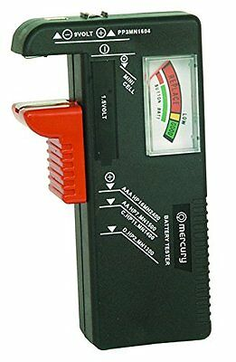 Power Double aa Battery Tester For AA, AAA, PP3 and Button Cells Multipurpose