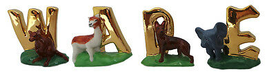 Wade Gold Alphabet Whimsies Ideal Stocking Filler For Child or Wade Collector