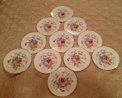 Vintage Tuscan Fine English Bone China Tea Plate - Great For Use/Dresser Display