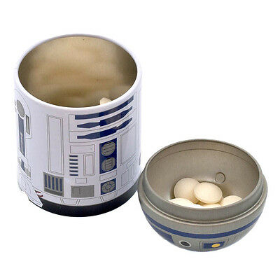 Official Star Wars R2-D2 Tinned Novelty Mints - Metal Tin Gift Box Collectable