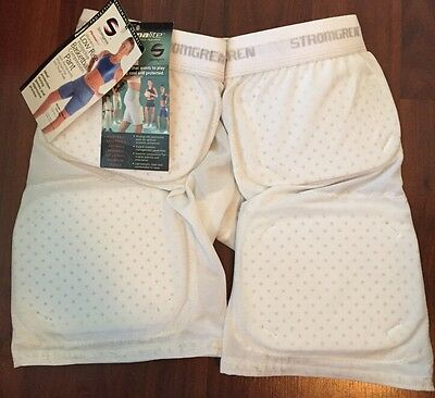 STROMGREN Permalite Women's Low Rise Basketball Compression Pants Pads 2XL NEW