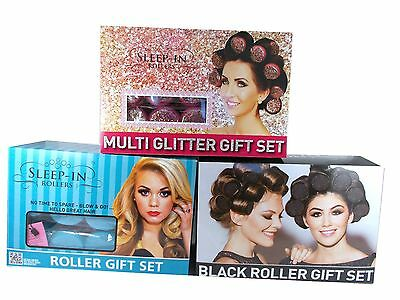 SLEEP-IN ROLLERS sleep in 20 hair rollers gift set choose size