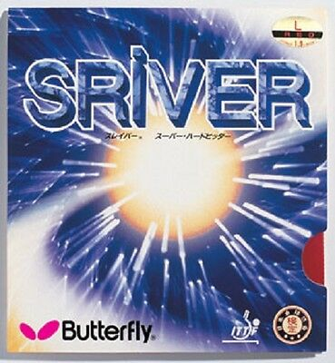 Table Tennis Rubber: Butterfly Sriver
