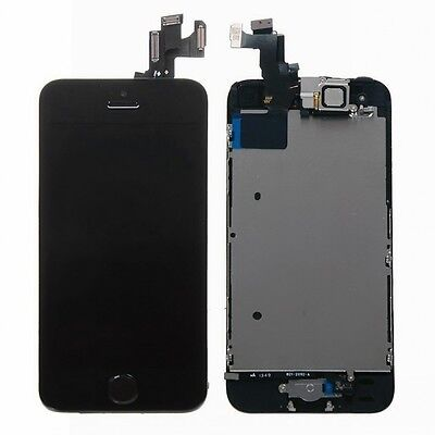 LCD Lens Display+Touch Screen Digitizer Assembly Replacement for Apple iPhone 5S