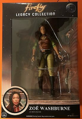 Firefly Classic Legacy Collection #5 Zoe Washburne Action Figure By Funko New