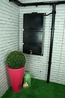 Ecosure 105 Litre Wall Mounted Water Butt Rain Water Harvesting Tank - UK Made