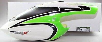 Blade 550 X Green Stock Canopy BLH5520 550X