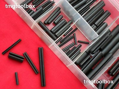 120 Pcs Roll Pin Assortment, Spring Pin,tension Pin,slotted Pins,dowels Spacers