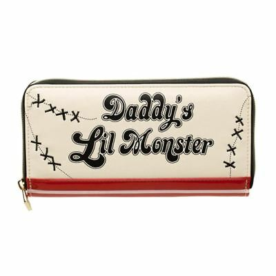 Official DC Suicide Squad Daddy's Lil Monster Zip Around Wallet Purse - Comics