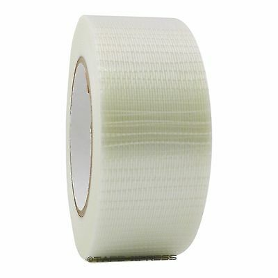 "Bi-Directional Filament Strapping Tape 2"" x 60 yd Reinforced Free Shipping"