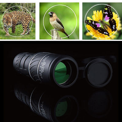 New Day & Night Vision 40x60 HD Optical Monocular Hunting Camping Telescope